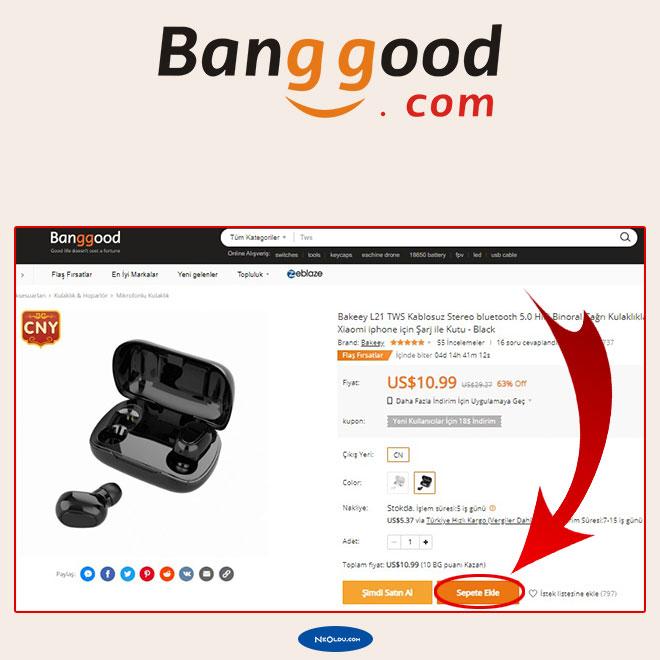 Banggood Alışveriş