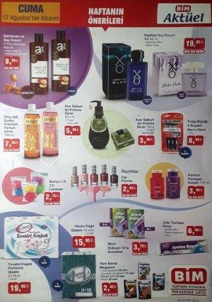 bim aktüel ürünler kataloğu 17-24 ağutos 2018 ürünleri