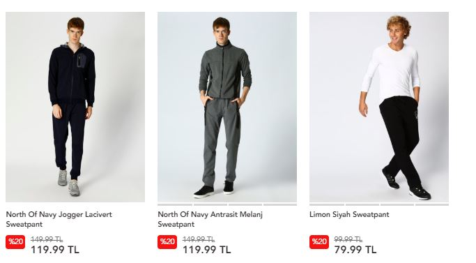 boyner black friday erkek spor giyim ürünleri