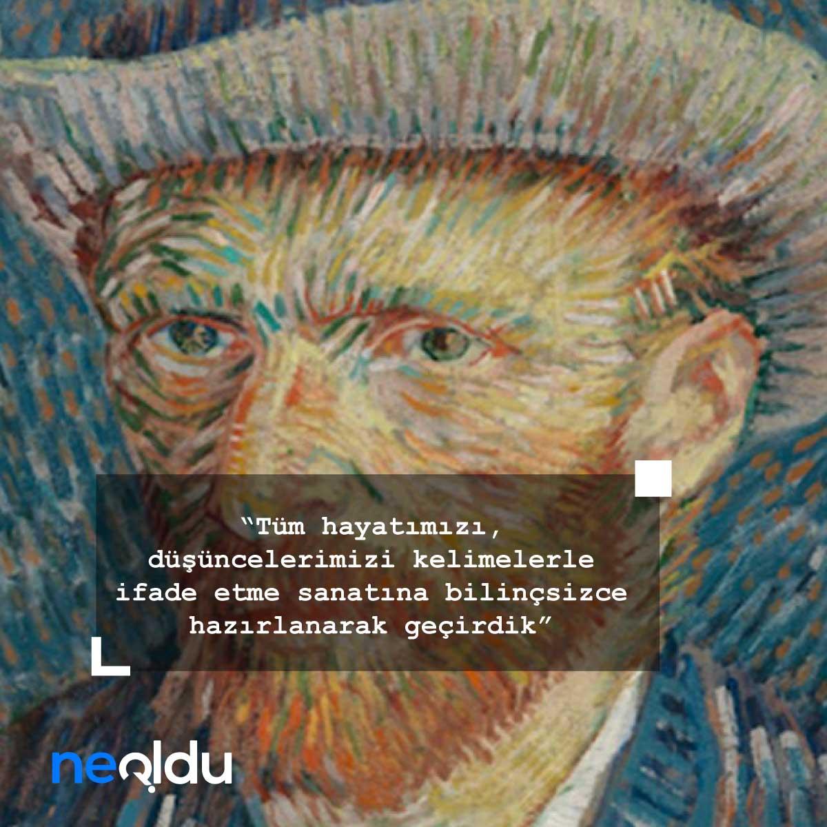 Van Gogh Sözleri