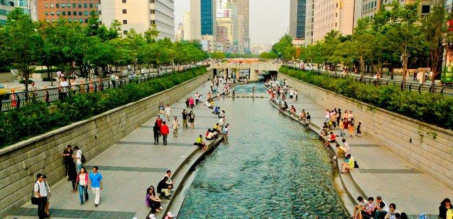 Cheonggyecheon gezilecek yer