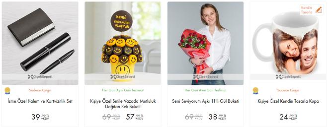 çiçek Sepeti 14 şubat Sevgililer Günü Indirim Kampanyası
