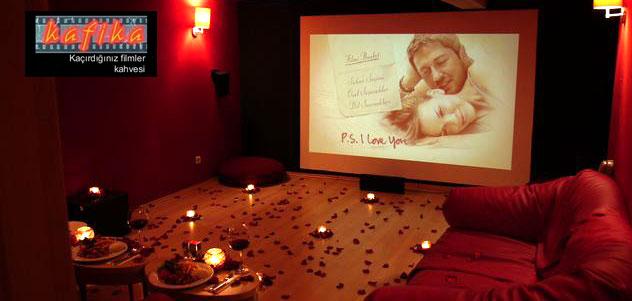 istanbul çiftlere özel sinema salonları kafikla
