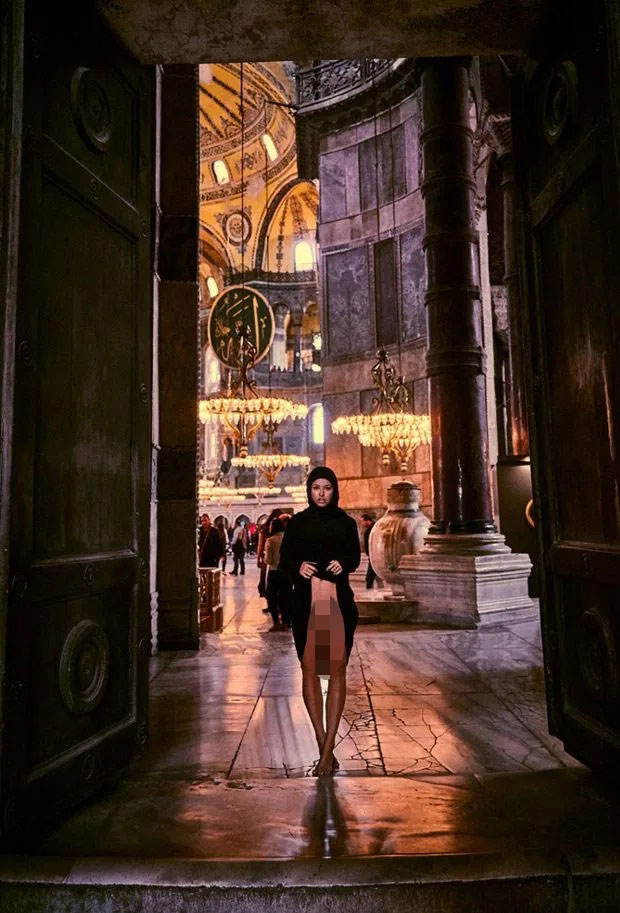 Çıplak Model Marisa Papen