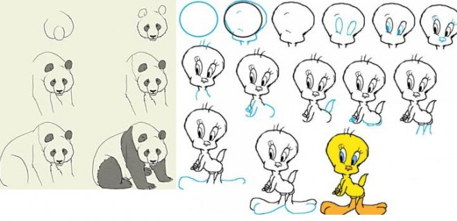 çizilen karakterler hareketlendirilir