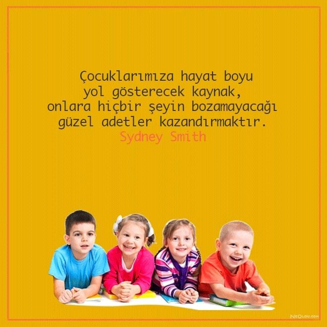 çocuklarla ilgili sözler