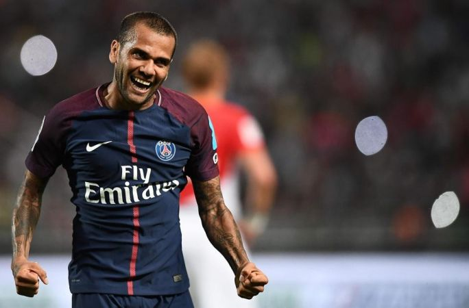 dani alves paris saint germain