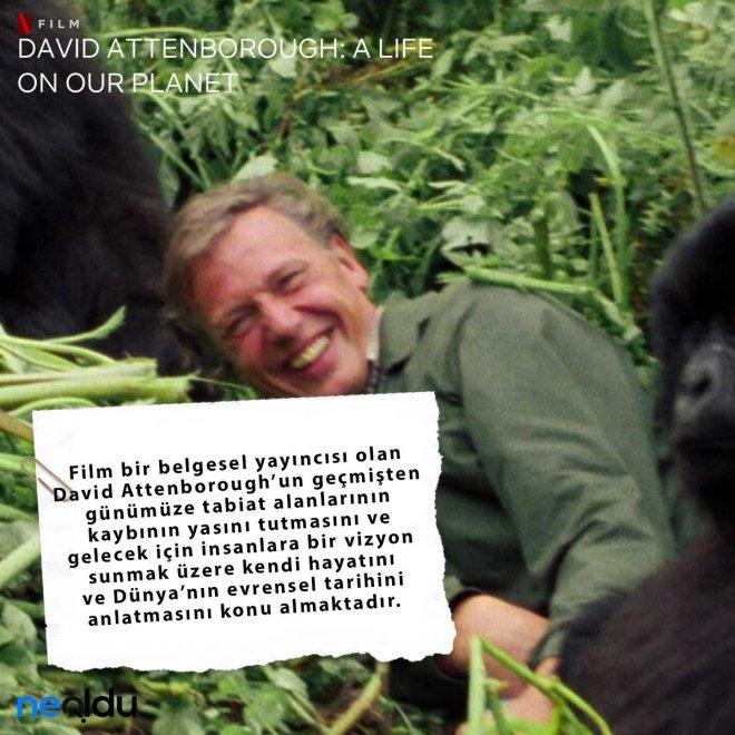 David Attenborough Gezegenimizden Bir Yaşam konusu