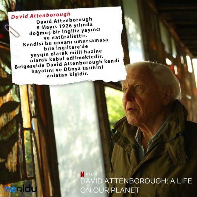 David Attenborough Gezegenimizden Bir Yaşam