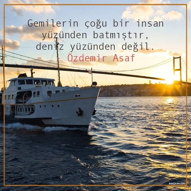 deniz sözleri