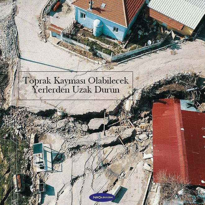 Deprem Sırasında Neler Yapmalıyız