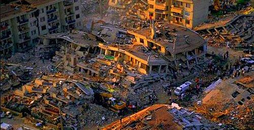 deprem sözleri