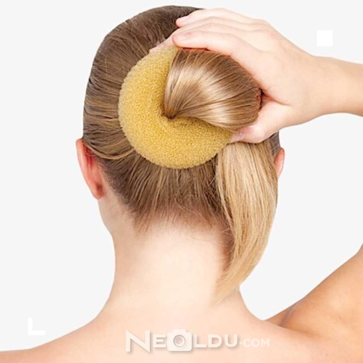 Donut Topuz Saç Modeli