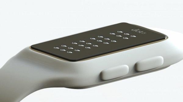 Dot Smartwatch Kabartmalı Ekranı