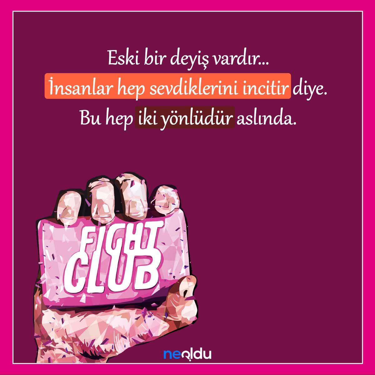 dövüş kulübü film replikleri