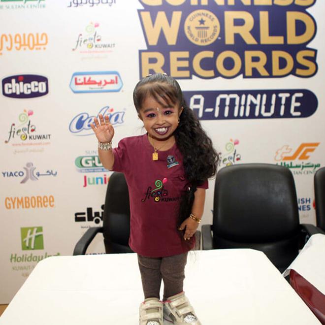 Dünyanın En Küçük Kadını; Jyoti Amge