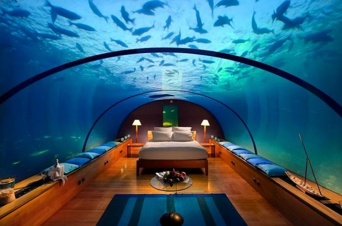 dünyanın en lüks ve pahalı otelleri congrad rangali ısland resort