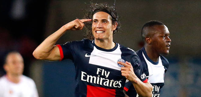 edison cavani paris saint germain