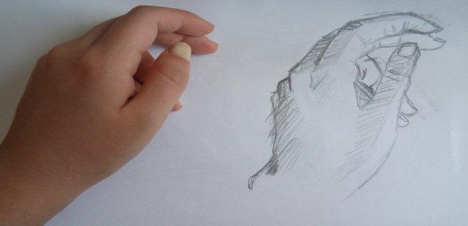Kara Kalem El çizimi