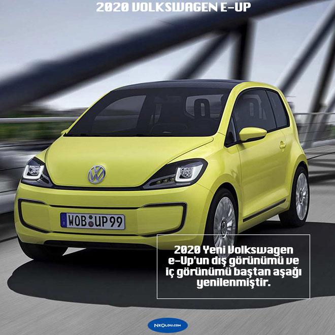 Elektrikli 2020 Yeni Volkswagen e-Up Özellikleri