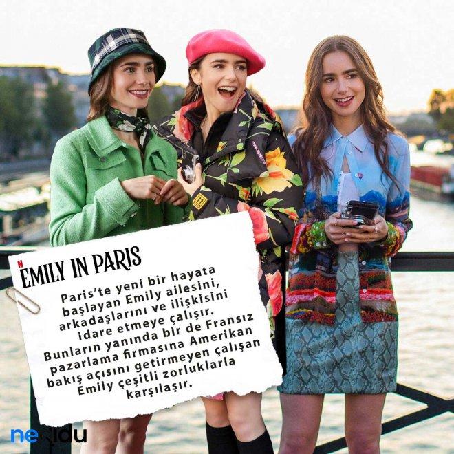 Emily in Paris dizisinin konusu