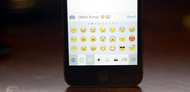 iphone emoji klavye özelliği