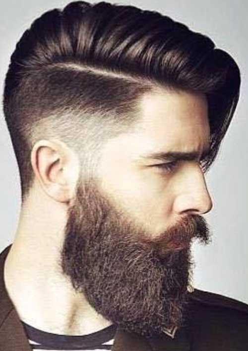 sakallı ve uzun erkek saç modelleri