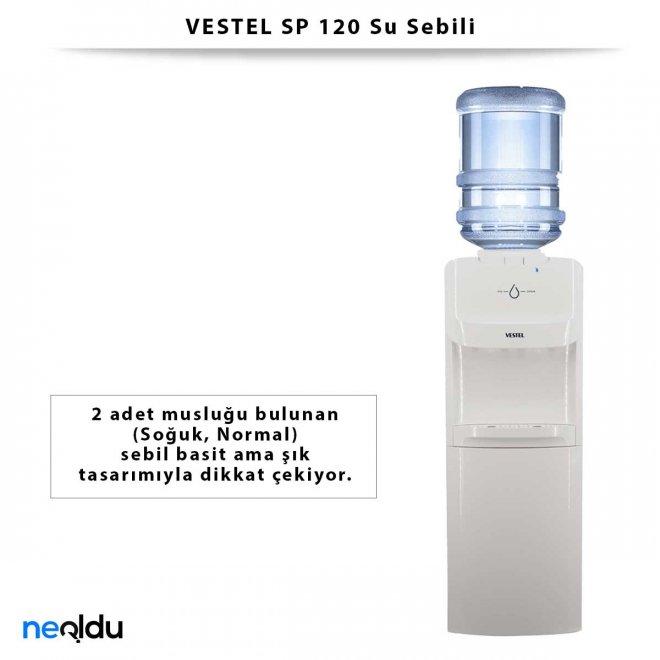 VESTEL SP 120 Su Sebili