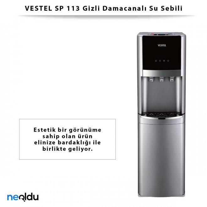 VESTEL SP 113 Gizli Damacanalı Su Sebili