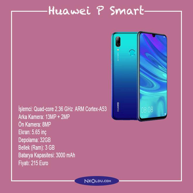 Huawei P Smart Cep Telefonu