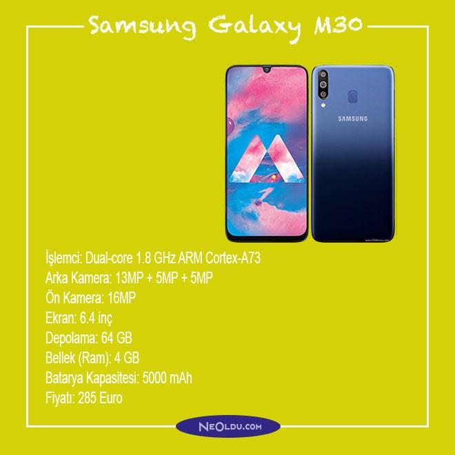 Samsung Galaxy M30 Cep Telefonu