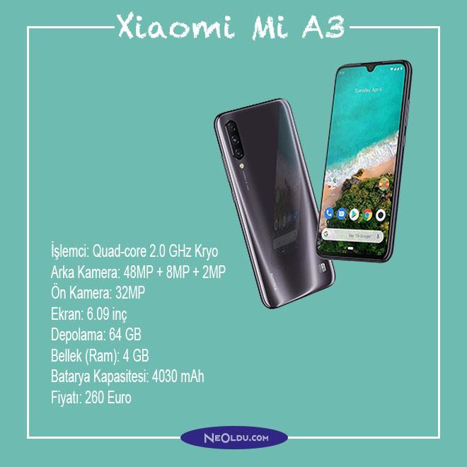 Xiaomi Mi A3 Cep Telefonu