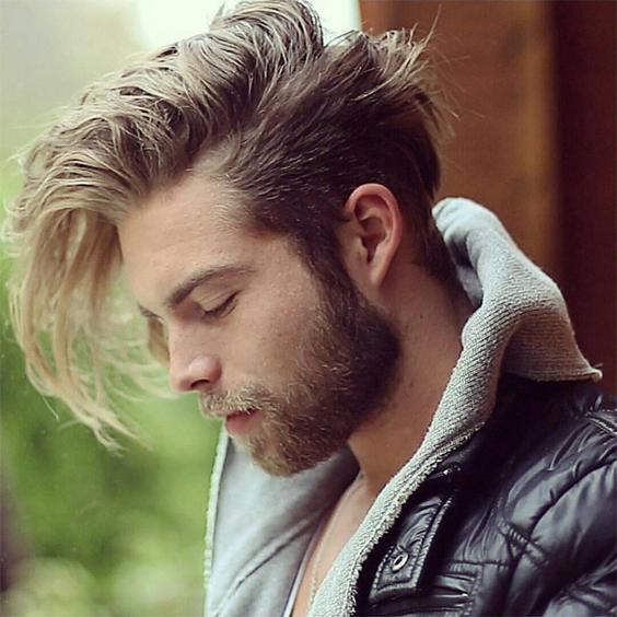 erkek uzun saç