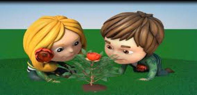 çocuk çiçek temalı expo
