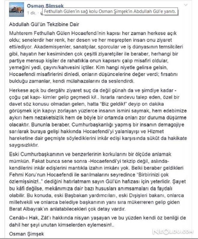 osman şimşek abdullah gül