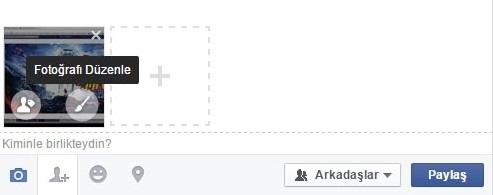 Facebook Fotoğraf Düzenleme Aracı Kullanımı