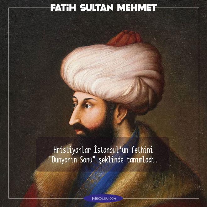 Fatih Sultan Mehmet Hakkında Bilgi