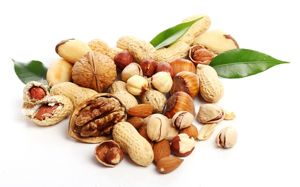 Foods that reduce stress - nuts