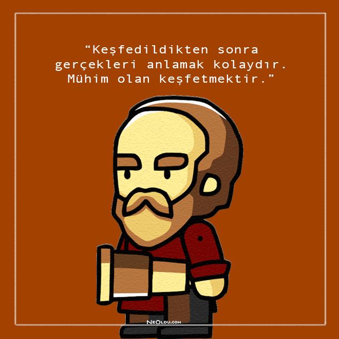 Galileo Galilei Sözleri