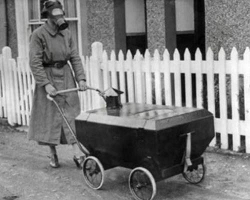 gaz korumalı bebek arabası