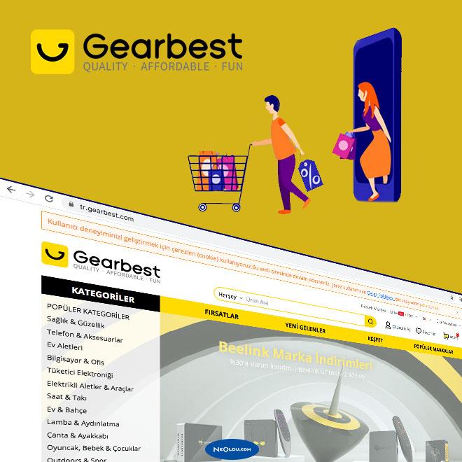 Gearbest Türkiye Alışveriş