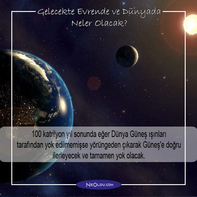 Gelecekte Evrende ve Dünyada Neler Olacak