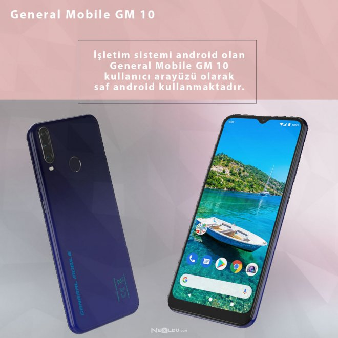 General Mobile GM 10
