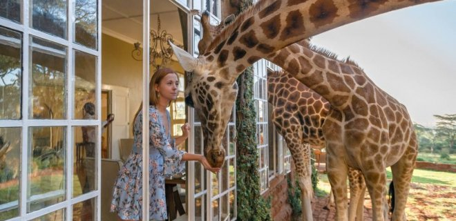 giraffe monor zürafa kahvaltı