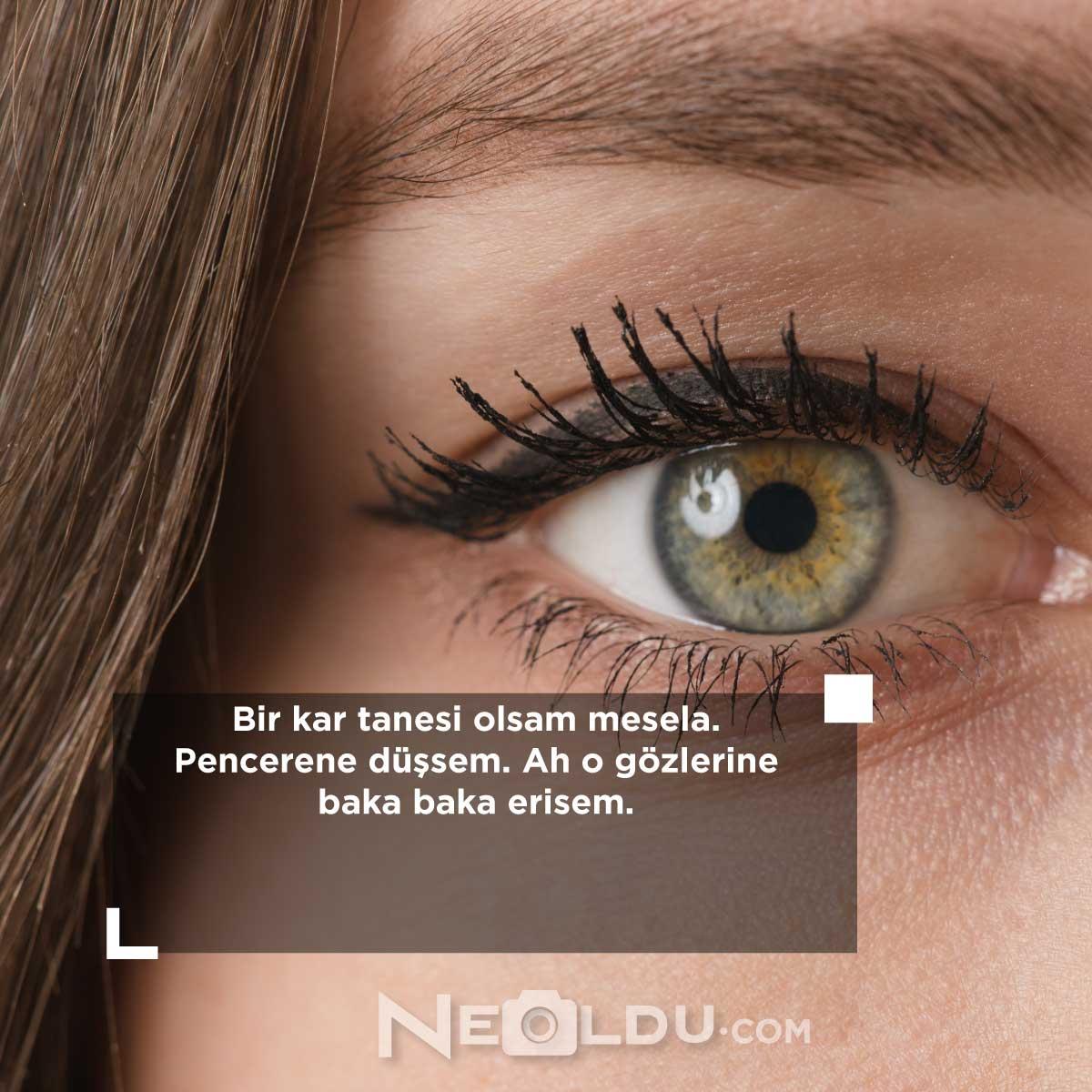 Göz ile ilgili Sözler