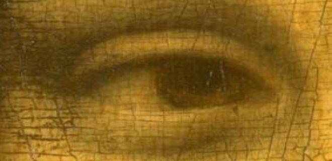 mono lisa''nın gözü