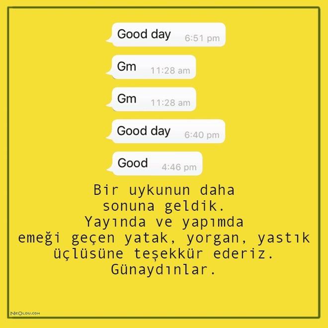 günaydın mesajları