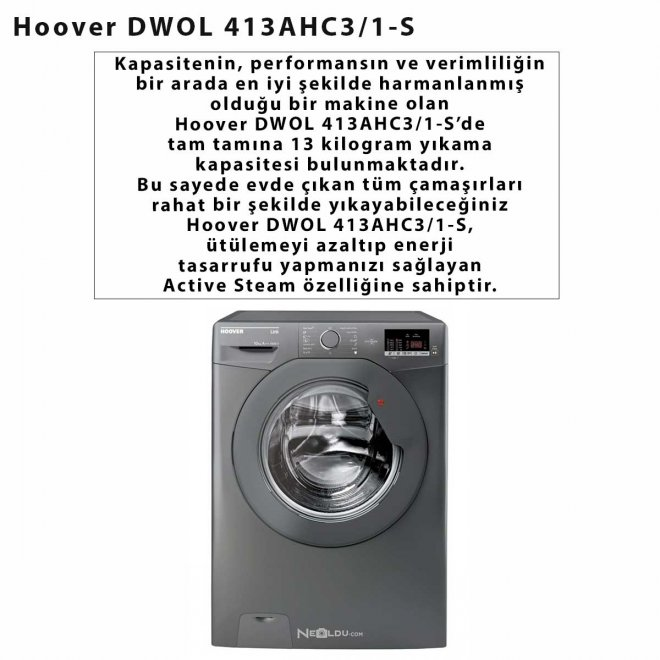 Hoover DWOL 413AHC3/1-S