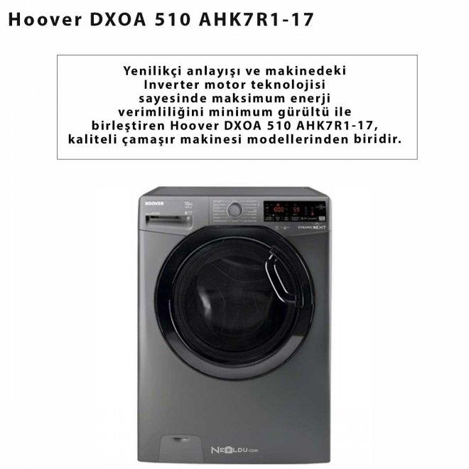 Hoover DXOA 510 AHK7R1-17