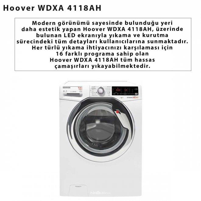 Hoover WDXA 4118AH